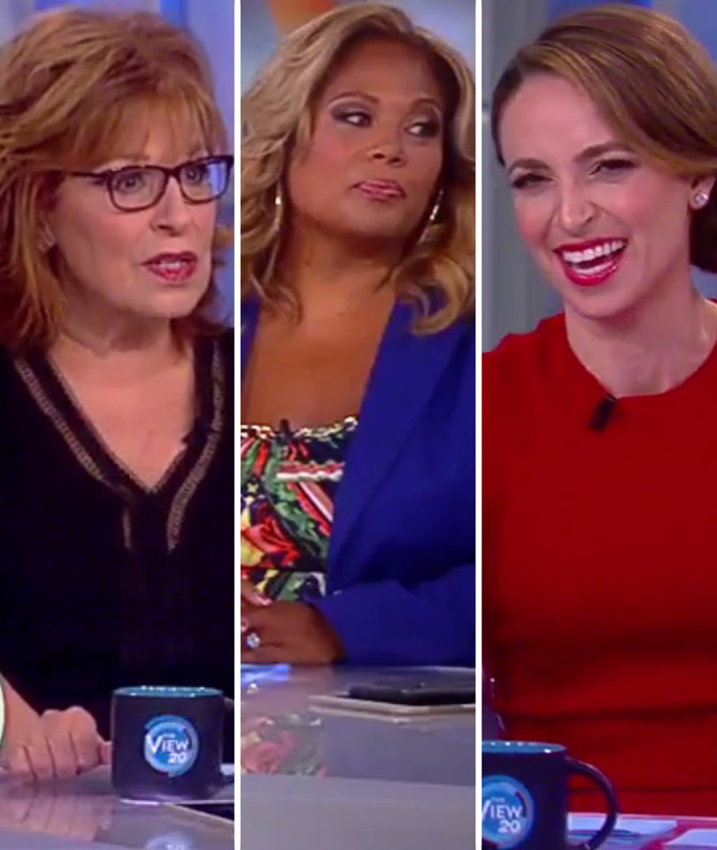 Why 'The View' Thinks Scaramucci Unleashed NSFW Rant to Impress Trump