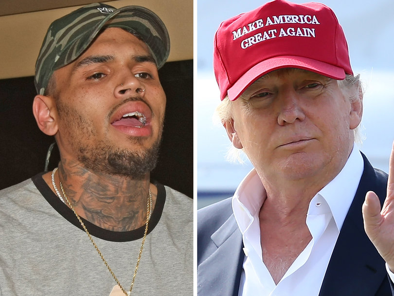 Chris Brown Slams Trump For 'Giving Police More Right to F-ck Up Young Black Men'