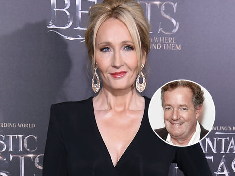 Piers Morgan Rips J.K. Rowling for 'Disgraceful Lie' About Trump