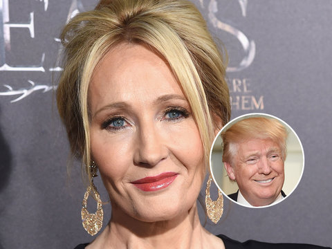 JK Rowling Apologizes for Trump Twitter Tirade Over Disabled Boy