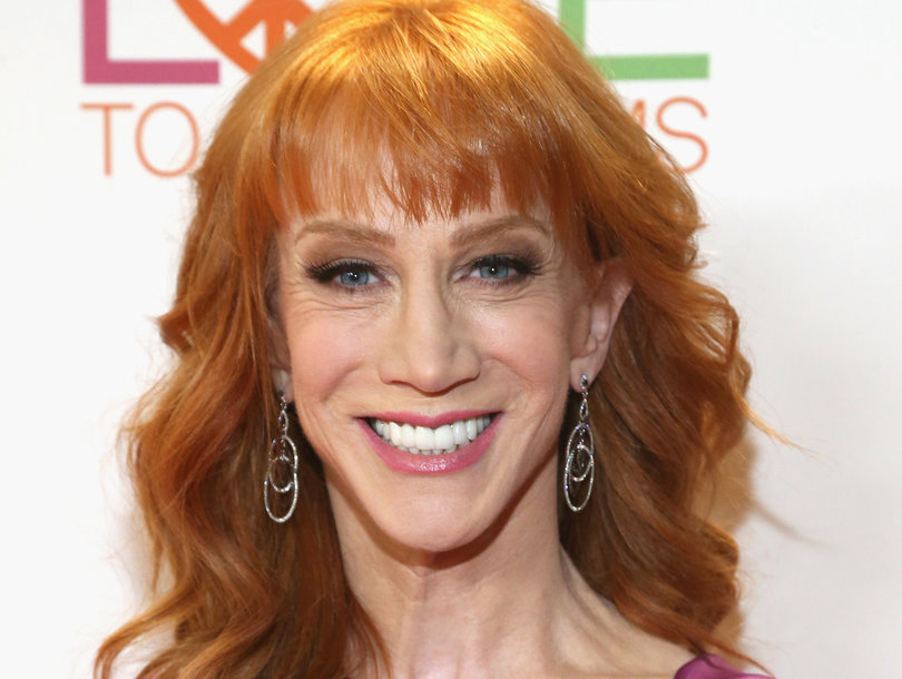 Why Kathy Griffin Shaved Her Head (Photo)