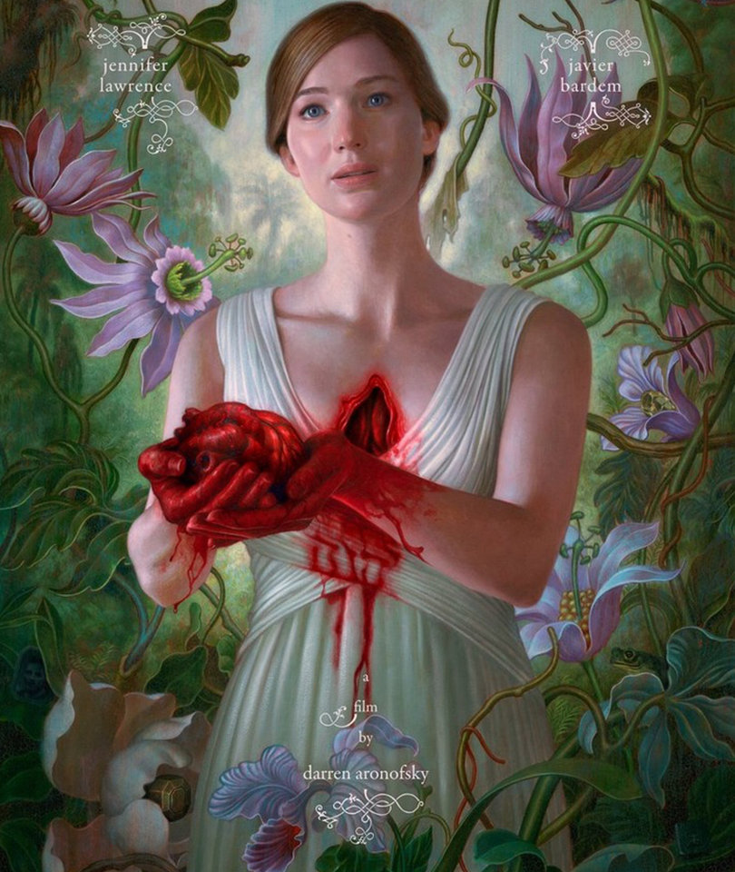 'mother!' Trailer: Lawrence's New Darren Aronofsky Movie Looks Creepy AF