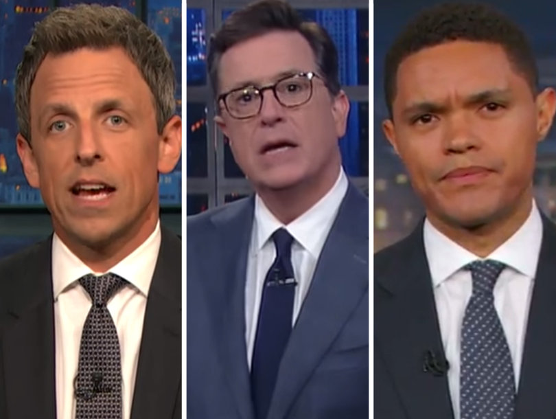 Late-Night Hosts All Revel In Scaramucci's White House Dismissal (Video)