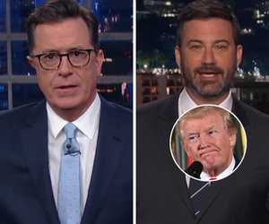 Colbert, Kimmel Go to Town on Trump Team Over That Email Prank
