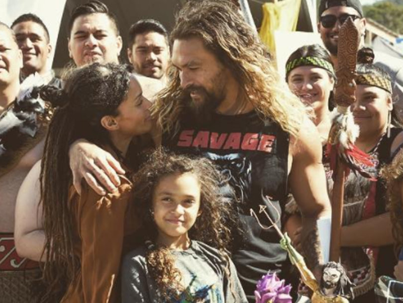 See Jason Momoa's B-Day Surprise from Lisa Bonet and Their Kids