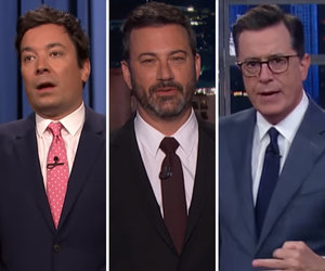 Late-Night Hosts Go in Hard on Trump's Immigration Reform Plan