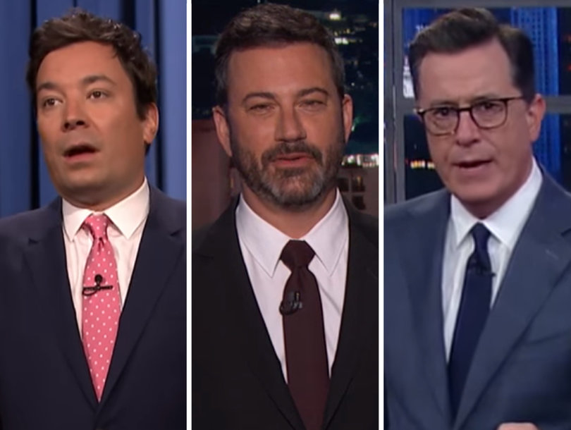 Late-Night Comedians Bash Donald Trump's RAISE Immigration Reform Plan as 'RACIST'