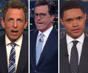 Late-Night Hosts Imagine Trump Trial in Wake of Mueller's Grand Jury