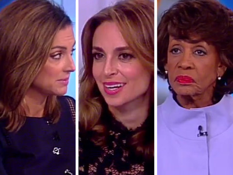 Maxine Waters Battles Conservative 'View' Co-Hosts Over White House Leaks