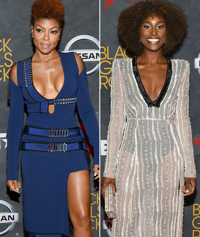 Black Girls Rock! Red Carpet: Taraji and Issa Among Stunners