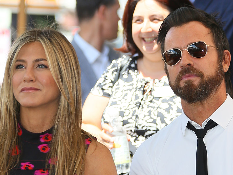 Justin Theroux Shares Selfie with Jennifer Aniston on Wedding Anniversary