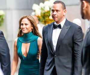 J.Lo and A-Rod Look Red Carpet-Ready for a Friend's Wedding