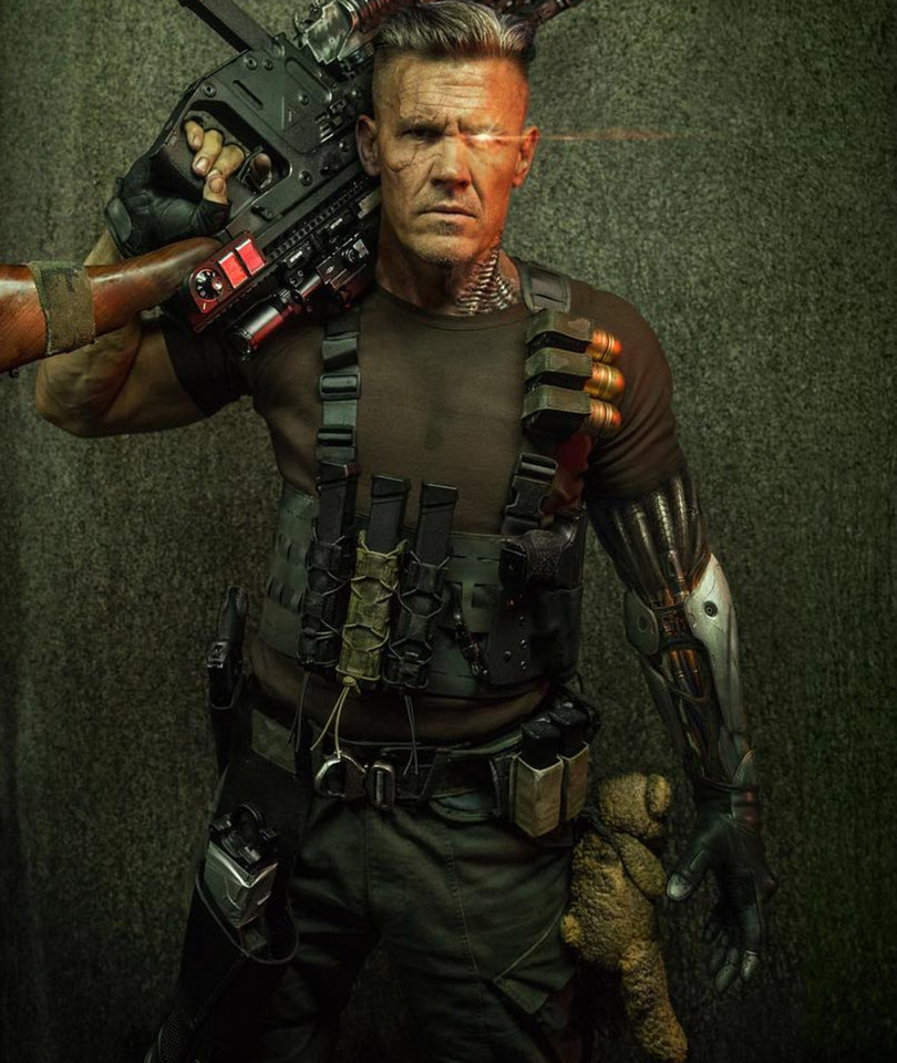 Ryan Reynolds, Josh Brolin Share First Photos of Cable in 'Deadpool 2'