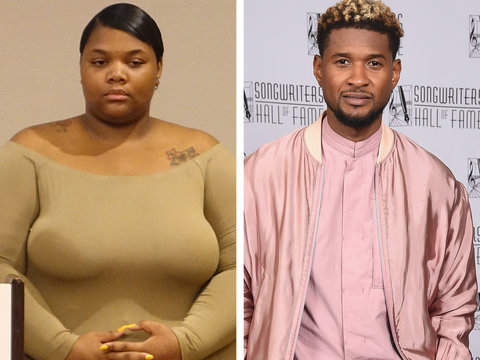 Usher's Herpes Accuser Sparks Fat Shaming Frenzy: '3 Star Defensive Tackle,' 'This Chick…
