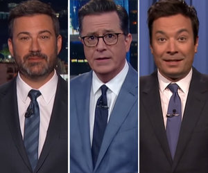 Late-Night Hosts Take Big Swings at Trump's 17-Day Golf Vacation