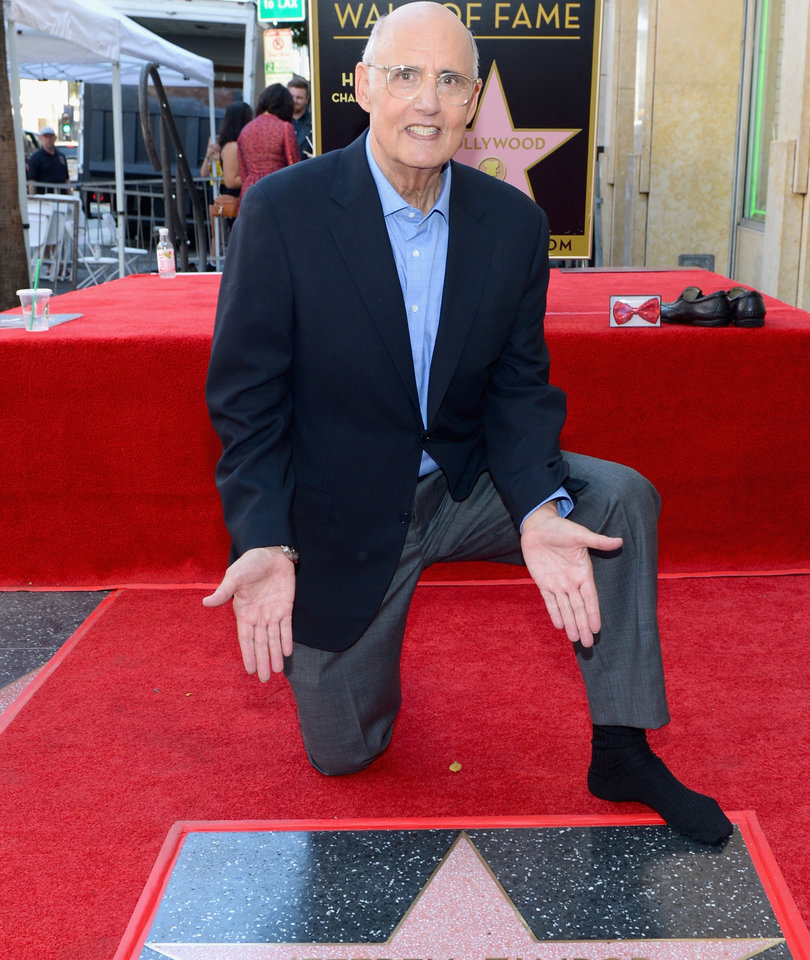 Jeffrey Tambor Honored with a Star on the Walk of Fame
