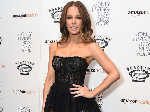 Kate Beckinsale Stuns at 'The Only Living Boy In New York' Premiere