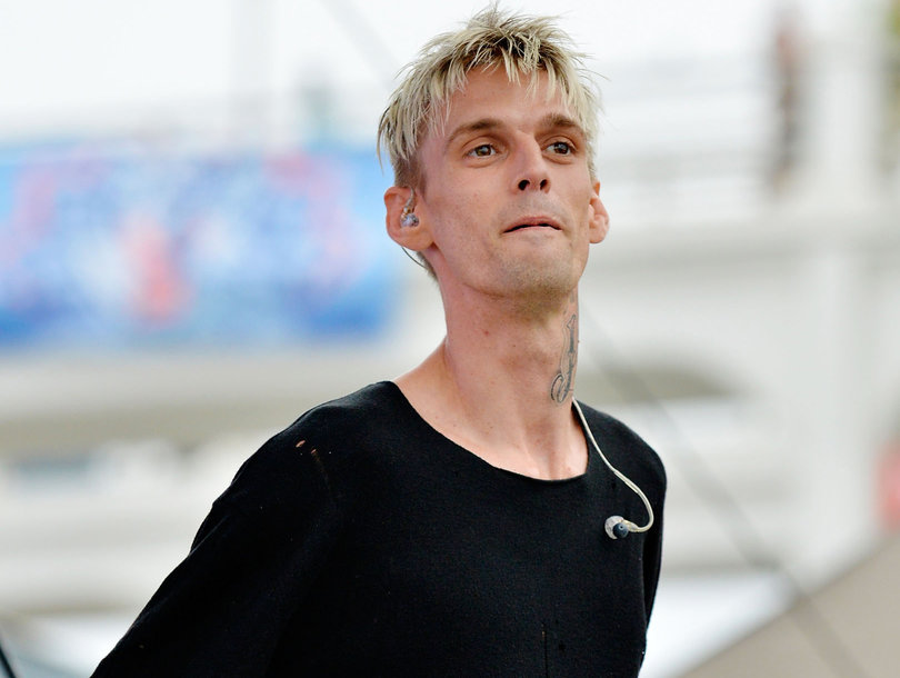 Aaron Carter Says Girlfriend Breakup Was Over His Bisexuality: 'She Didn't Really Understand It'