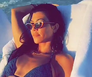 Kourtney Kardashian's Egyptian Vacation with Younes Bendjima