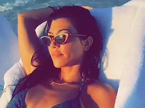 Kourtney Kardashian's Egyptian Vacation with Younes Bendjima
