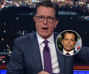 Colbert Previews Interview With The Mooch: 'We'll Do Some Front Stabbing'