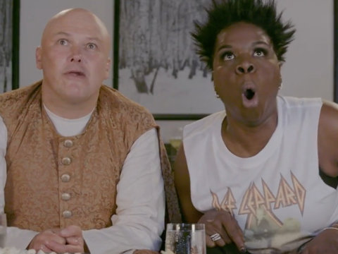 'Game of Thrones' Super Fan Leslie Jones Freaks the F-ck Out Over Dragon Attack