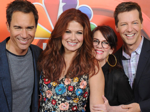 'Will & Grace' Get Goofy Behind the Scenes of First Episode Taping