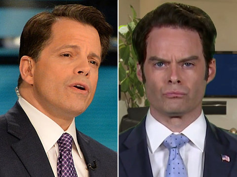 Why Anthony Scaramucci Had a Problem With Bill Hader's 'Weekend Update' Impression
