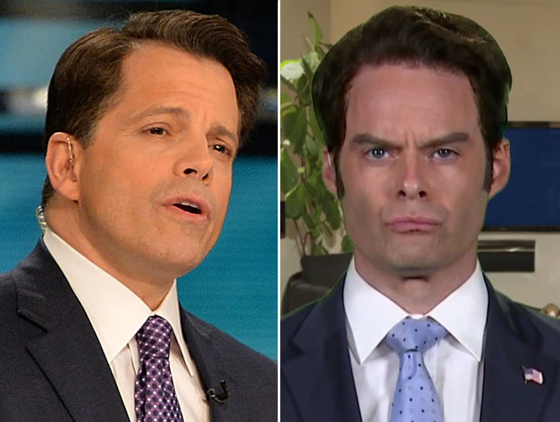 Why Anthony Scaramucci Had a Problem With Bill Hader's 'Weekend Update'…