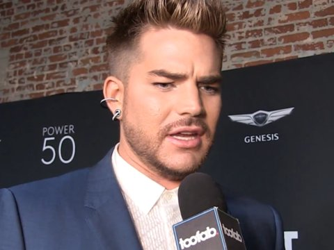 Adam Lambert is 'disgusted' by Donald Trump