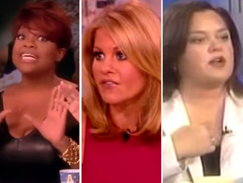 Celebrate 20 Years of 'The View' With 13 of Its Most Explosive Moments (Video)