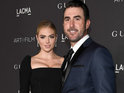 Kate Upton Goes Makeup Free with Beau Justin Verlander