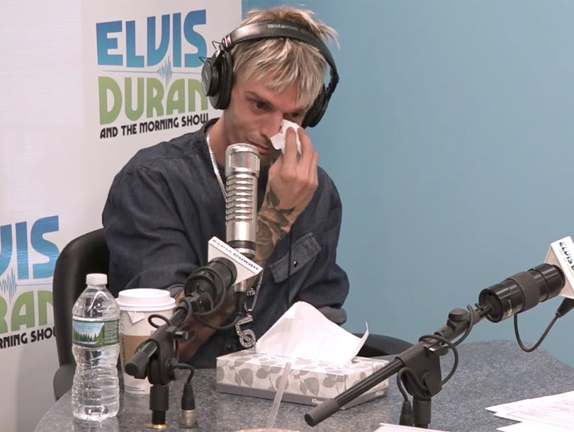 Aaron Carter Quits Twitter Because He 'Can't Handle This Negativity'