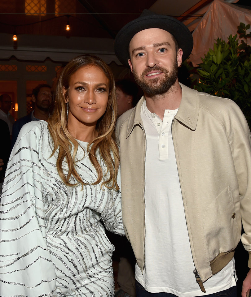 J.Lo and Justin Timberlake Party In the Hamptons