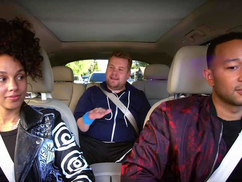 John Legend, Alicia Keys Sing About Erections And Deodorant In 'Carpool…