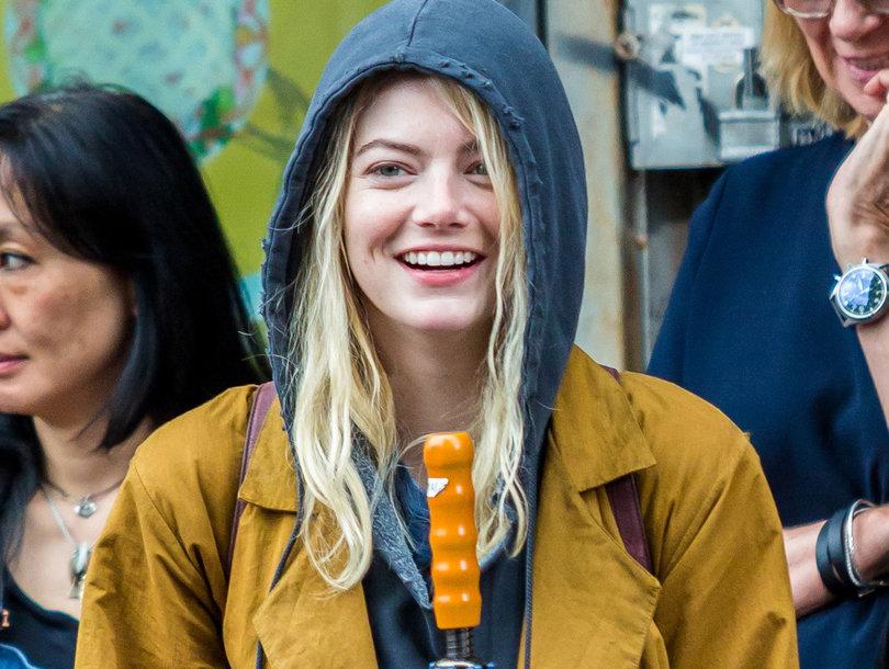 Emma Stone Spotted Filming New Netflix Series 'Maniac'