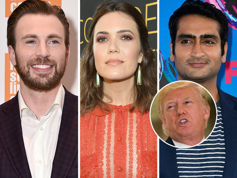 Hollywood Is Furious As Trump Backpedals on Who's to Blame in Charlottesville Attack