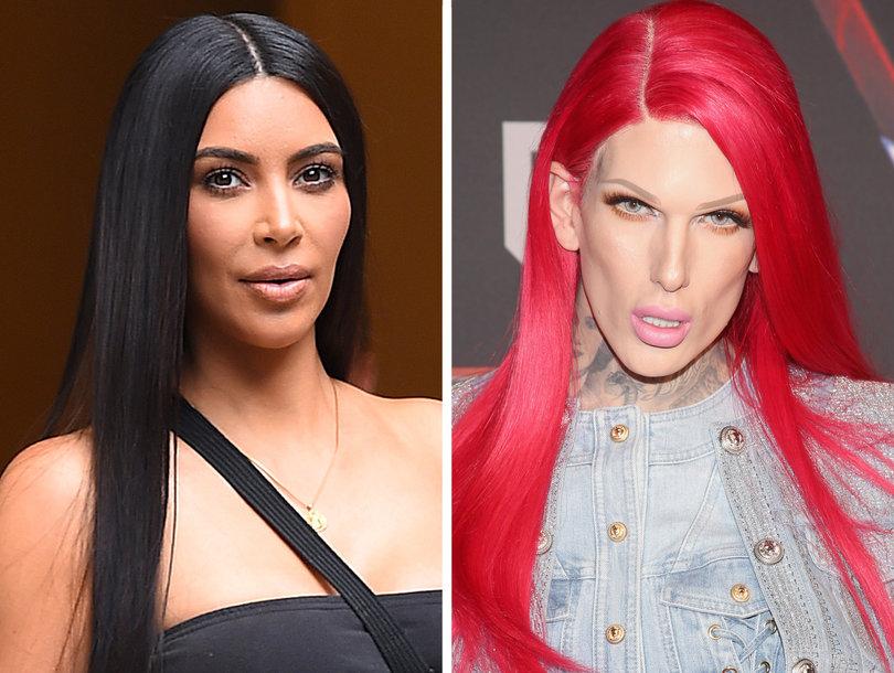 Kim Kardashian Under Fire for Defending 'Racist' Beauty Vlogger Jeffree Star