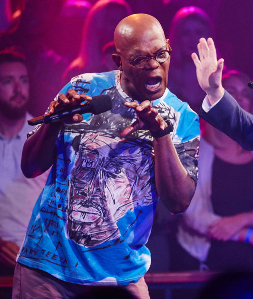 Samuel L. Jackson and James Corden's Rap Battle Gets Vicious AF