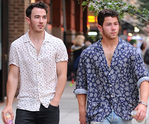 Nick and Kevin Jonas Step Out In NYC on Joe's Birthday