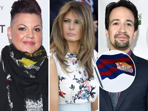 Hollywood, First Lady Send 'Prayers' to Barcelona Terror Attack Victims