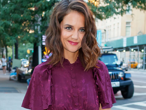Katie Holmes Steps Out at 'The Tick' Premiere in NYC