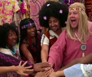 You Gotta See Naked James Corden and Lin-Manuel Miranda Bring 'Hair' to the Crosswalk