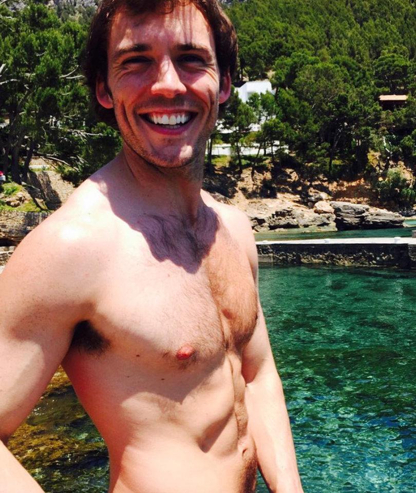Sam Claflin Slips Into Shailene Woodley's One-Piece For Some Reason