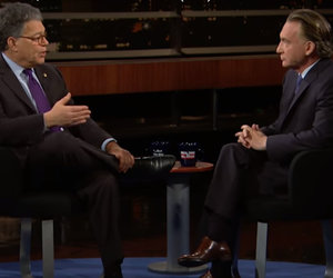 Al Franken Tells Bill Maher Trump Is a 'Terrible President'