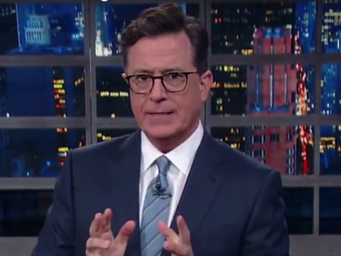 Colbert Rips Into Trump for Losing Every CEO on Manufacturing Council