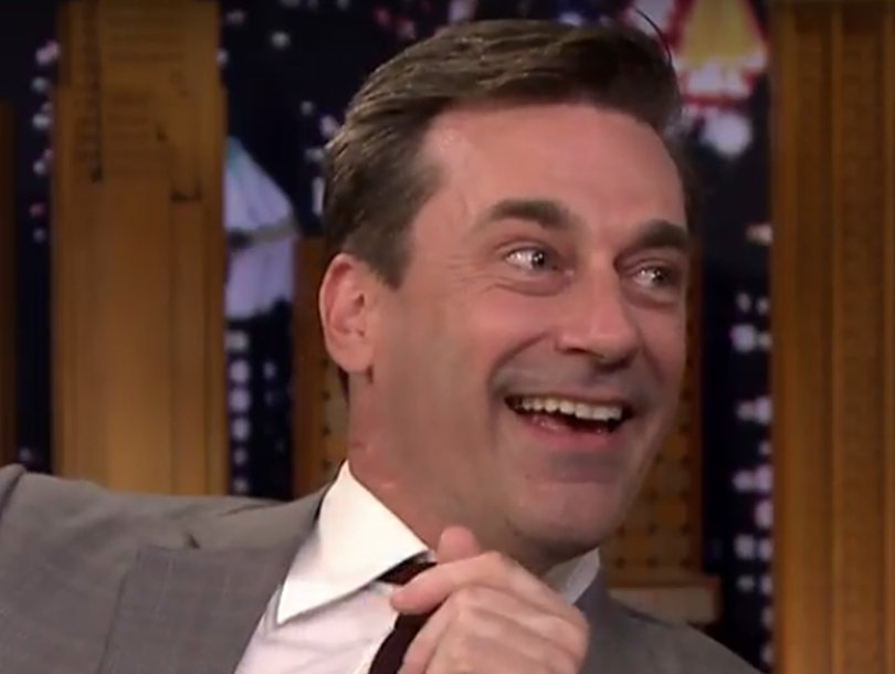 Jimmy Fallon Can't Belieb Jon Hamm Went to a Justin Bieber Concert