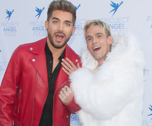 Carter Poses With Lambert After Praising His Bisexual Coming Out 'Journey'