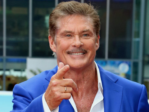 David Hasselhoff on 'American Idol' Judge Gig: 'Throw Me the Ball'