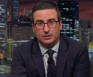 John Oliver Blasts Fox News, GOP for Not Condemning 'Nazi Sympathizer' Trump